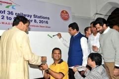 Hamara Station Hamari Shaan with CM Shri Devendra Fadanvis