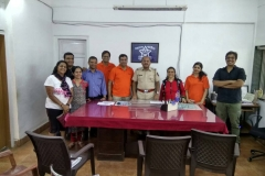 Art Work for the Police Station Beautification at Borivali